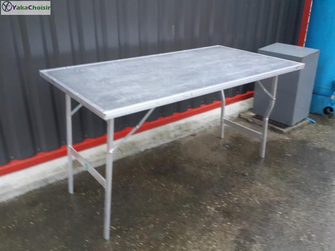 bureaux et commerces table pliante de march aluminium rh ne alpes rh ne yakachoisir. Black Bedroom Furniture Sets. Home Design Ideas